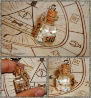 Gravity Falls - Jar of Eyes - Mystery Shack Charm by YellerCrakka