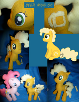 Beer Mug OC plush commission by Awkwardly-Handsome