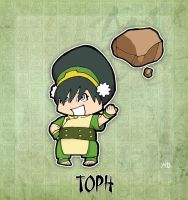 Toph by rabidcyrus