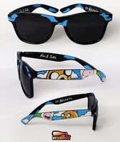 Adventure Time Sunglasses by Ketchupize