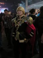 Cosplayers: Rule 63 Valerian Mengsk by LanceOmikron