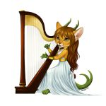Harpist by Anisis