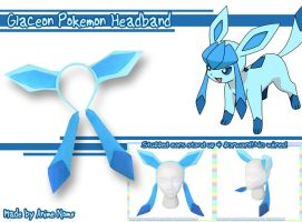 Glaceon Headband by AnimeNomNoms
