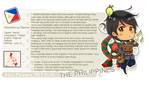 Hetalia: Philippines Profile by Putobingka