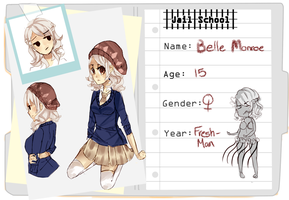 JS: Bell Monroe by Shrimpoop
