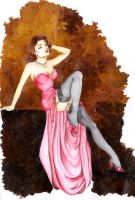 Vintage Pin Up by GisaPizzatto