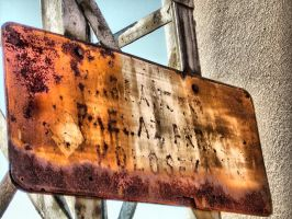 old sign by BorkoH