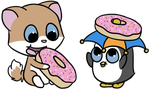 Doughnut derps by Smiley0face