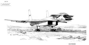 XB-70 Valkyrie by Naiyion