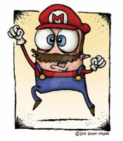 Super Mario by stuartmcghee