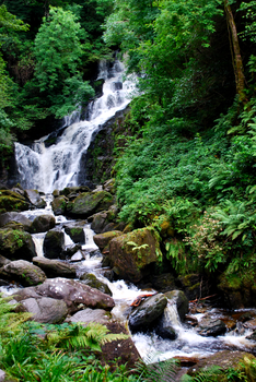 Torc Waterfall by CompassLogic