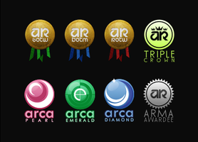 Anime Render Awards Icons by hagane-girl