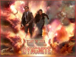 Tony and Ziva, dyn-o-mite by Wennuhpen