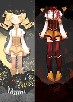 mami tomoe by AwkwardTension