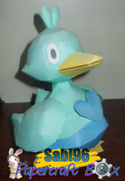 Ducklett Papercraft by Sabi996