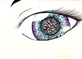 look into my eye by redstrarlight