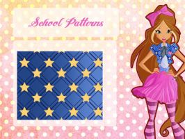 Flora Spirit School Patterns by Dessindu43
