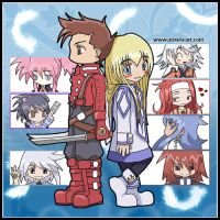 Tales of symphonia by anxela-art