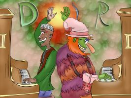 Two Green Doctors by Hitchhiker561