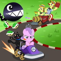 Diamond and Dazzle: Race by MagerBlutooth