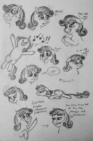 Sweetie Belle study by ambergerr