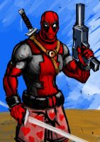 Deadpool by AndgIl