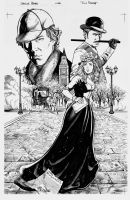 Sherlock Holmes Pin-up. by RodGallery