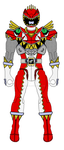 Action Hero - T-Rex Super Charge Red Ranger by Zeltrax987