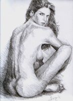 Nude study1 by gromyko