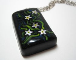 Starry Night Inspired Pendant by ExperienceDesigns