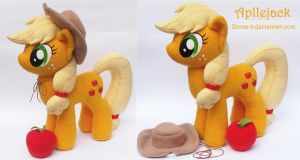 Applejack plush by Zorza-6