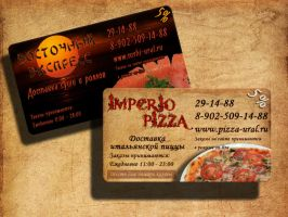 Business card by studionoirblanc