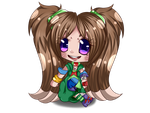 .pc.Oumi Chibi by AshleytheWolff