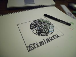 'Eliminera' Album Art Concept by ImportAutumn