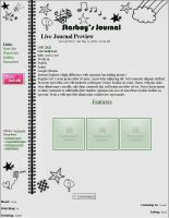 Journal CSS for StarBoyDeath by caybeach