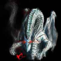 Dragon de Blind Guardian Chile by HellCames