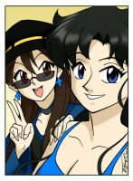 Arturetta and Eris Selfie by ArthurT2015