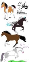 adoptables - horses by HeartBrokenWolf123