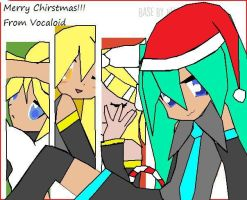Vocaloid Chirstmas by shadowscouzin123