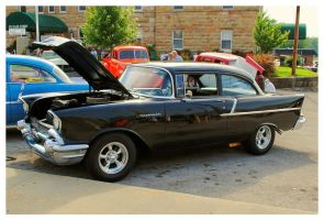 Black 1957 Chevy by TheMan268