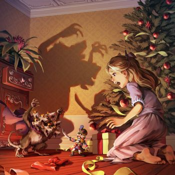 The Nutcracker and the Mouse King by nikogeyer