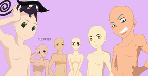 108 :Soul Eater Group Base: by CLGbases