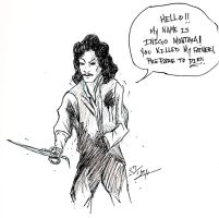 Inigo Montoya by SlightlySocial