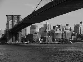 brooklyn bridge by NiVosta