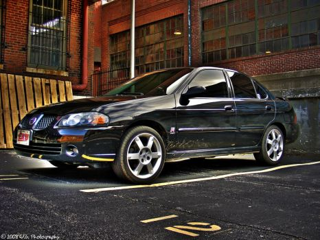 Nissan Sentra SE-R HDR by QuicksilverFX