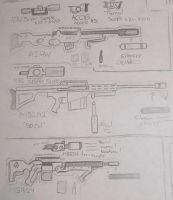 Weapon Set 1 :Snipers: by Ivan102