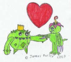 Plant Creatures In Love. by Rock-Raider