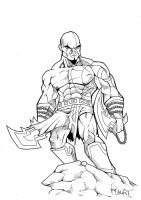 Kratos by mauriart
