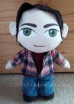 Sam Winchester plushie by Xandyr