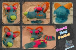 Doozy dog partial by Lodidah
